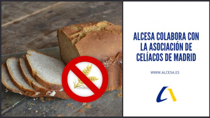 Alcesa colabora con la Asociación de Celíacos de Madrid