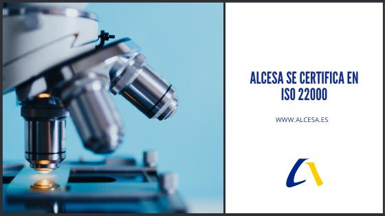 Alcesa se certifica en ISO 22000