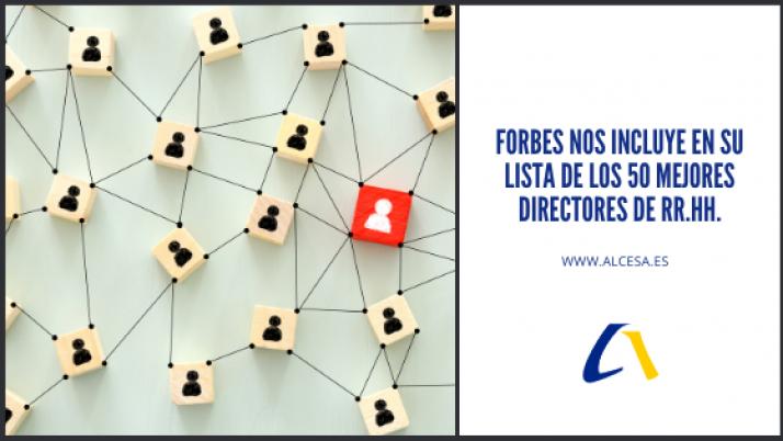 Forbes nos incluye en su lista de los 50 mejores directores de RRHH